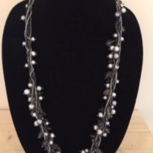Talbots Multistrand Festive Pearl/Bead Necklace